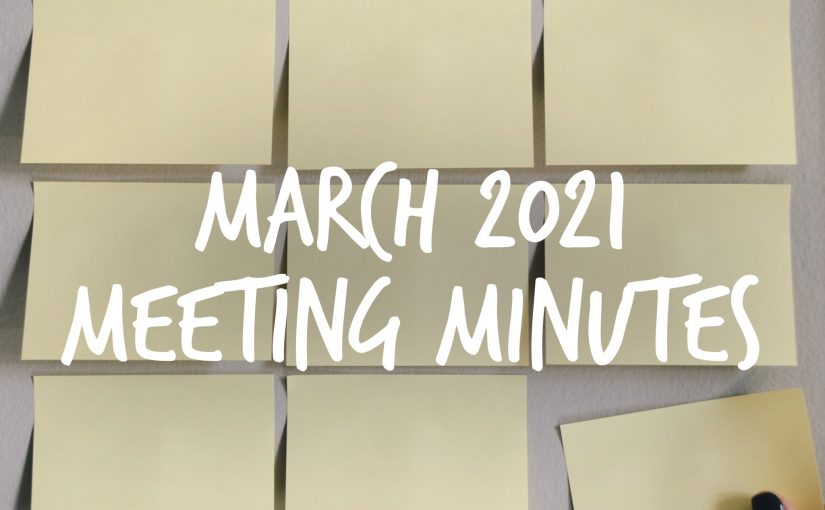 March 2021 Meeting Minutes