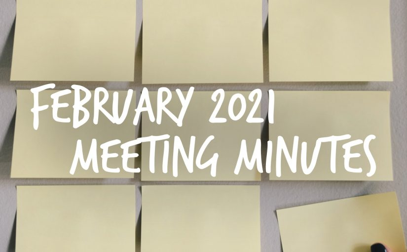 February 2021 Meeting Minutes