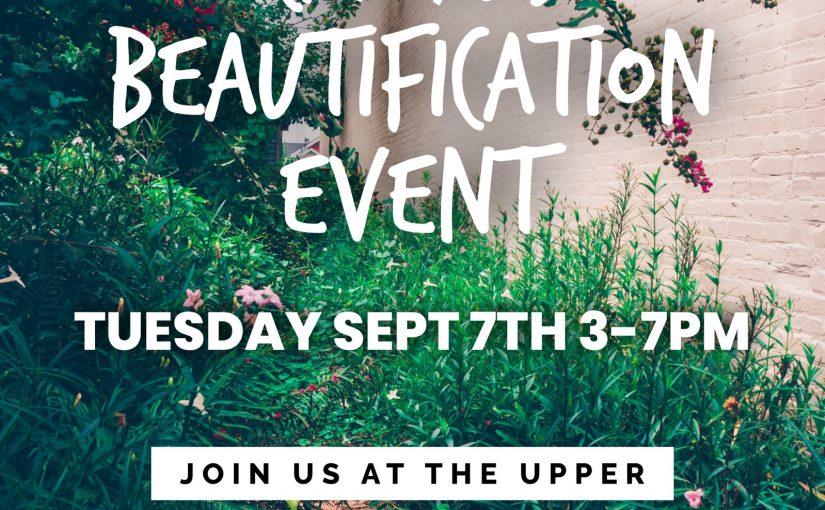 Campus Beautification Event
