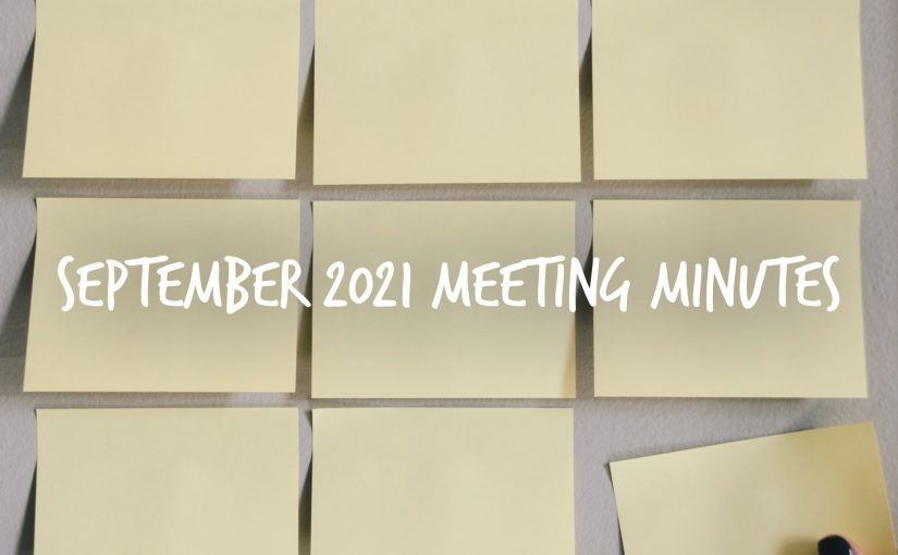 September 2021 PTO Meeting Notes